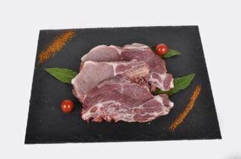 côte de porc fermier