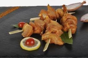 Le tapas de poulet à la provençale pris