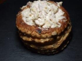 ris de veau,champignon,quenelle,jambon blanc